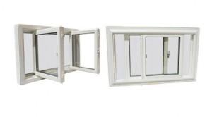 Double slider windows