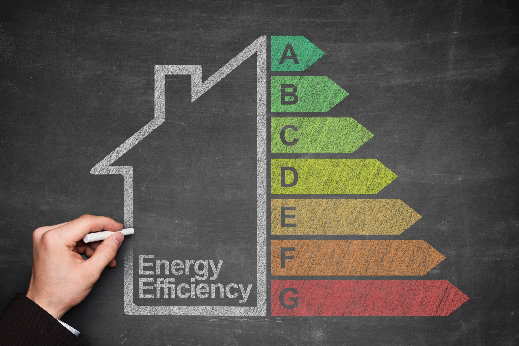 Energy efficient windows for home.