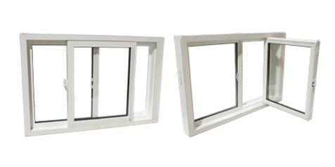 Single slider windows